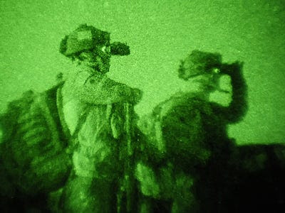 Team 6 had $65,000 night vision goggles far superior to what normal troops wear
