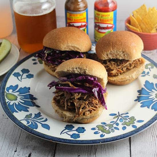 Spicy Pulled Pork Sliders | Cooking Chat