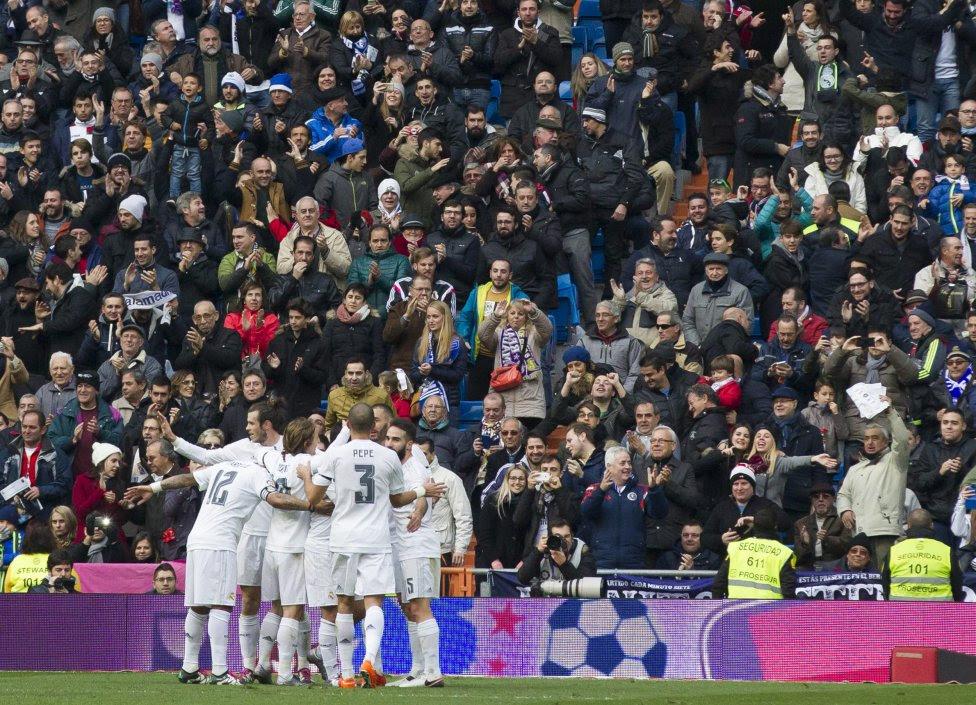 Las imágenes del Real Madrid - Sporting