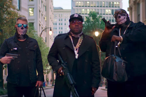 "Danger Mouse Feat. Run The Jewels & Big Boi ""Chase Me"" Video 