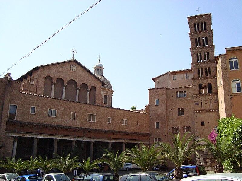Fil: Basilique Santi Giovanni e Paolo de Rome.JPG