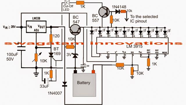 3v 45v 6v 9v 12v 24v Automatic Battery Charger With Indicator