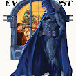 Gotham Evening Post, Batman Themed Cover Illustrations in the Style of Norman Rockwell