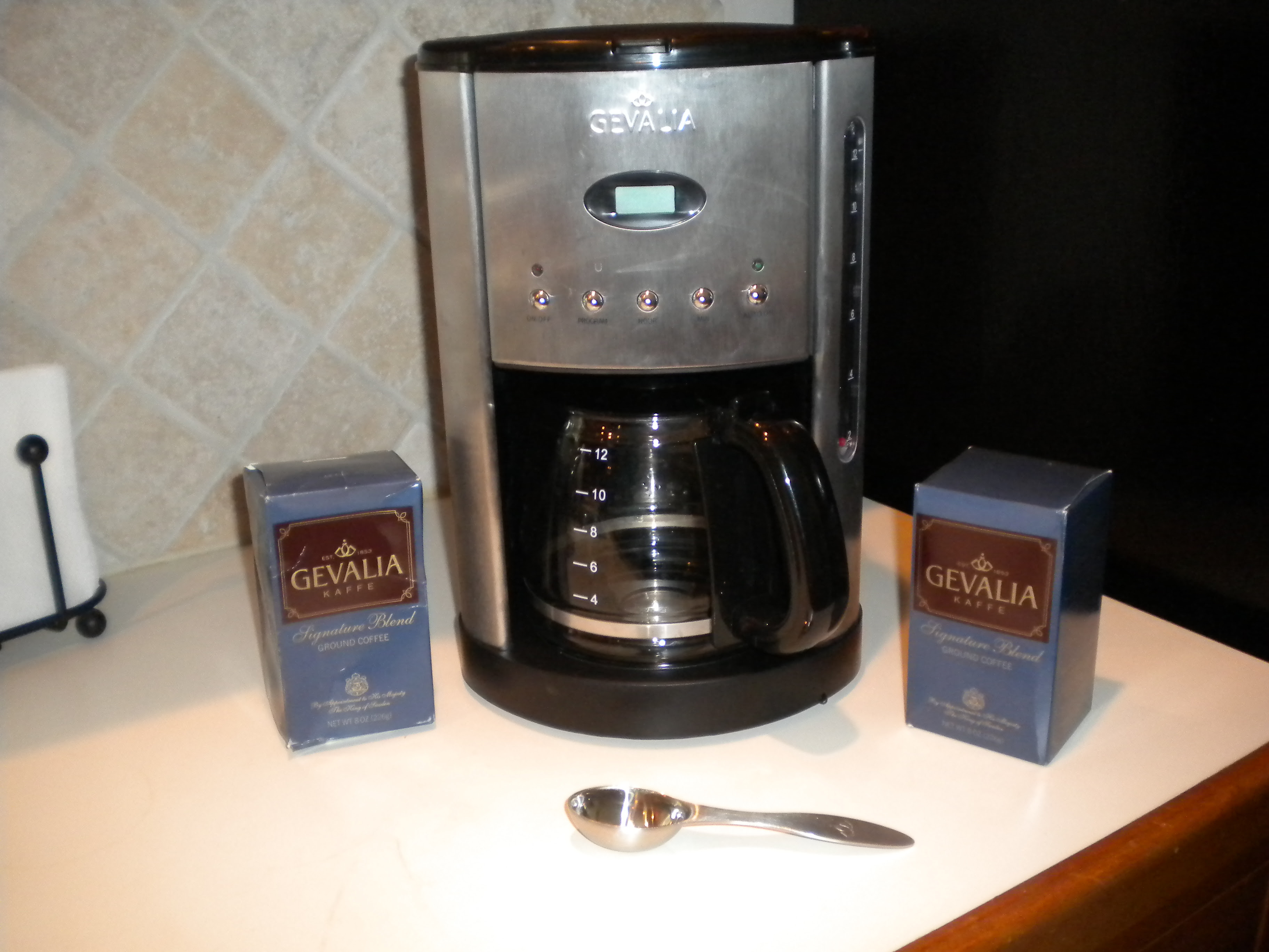 Gevalia: Free Stainless Steel coffeemaker, 4 boxes of coffee and a travel mug for only $19.95 ...