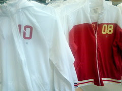Old Navy's not-quite-Olympic hoodies (Vancouver 10 and Beijing 08)