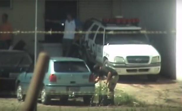 Entre as denúncias feitas pelo MP, está a retirada de combustível de viaturas da Polícia Militar (Foto: Divulgação/MP)