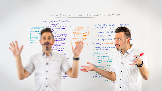 "How to Determine if a Page Is ""Low Quality"" in Google's Eyes - Whiteboard Friday"