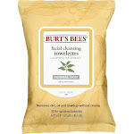 Burt's Bees Facial Cleansing Towelettes With White Tea Extract -- 30 Towelettes (1 Pack)