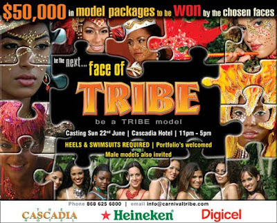 TRIBE Carnival Band 2009 Model Search