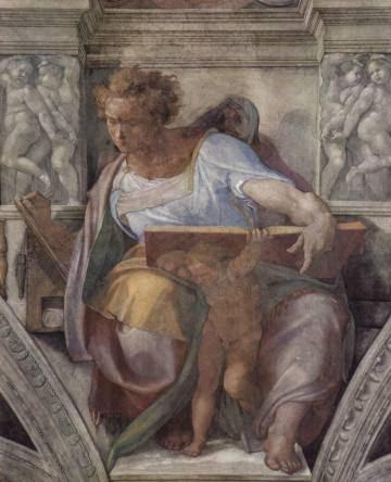 Daniel en un detalle de la Capilla Sixtina.