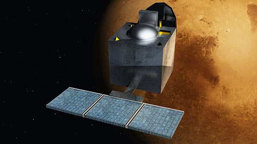 Indian spacecraft reaches Mars for less than it cost to make 'Gravity'