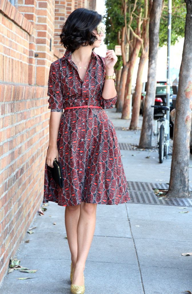printed dresses for work 2020  fashiontasty