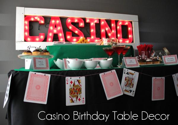 Casino Party Decorations Party Favors Ideas