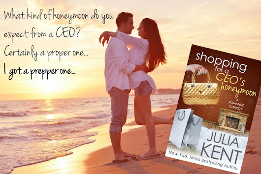 Book Blitz ♥ Shopping for a CEO's Honeymoon by Julia Kent ♥ #giveaway $25 GC