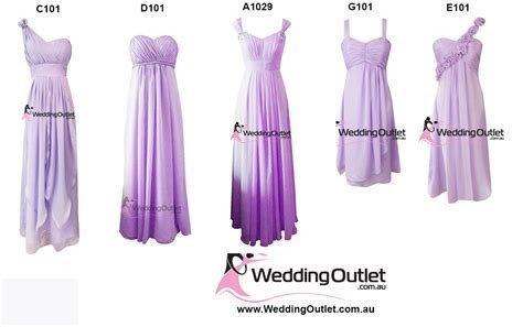 Purple Bridesmaid Dresses   WeddingOutlet.com.au