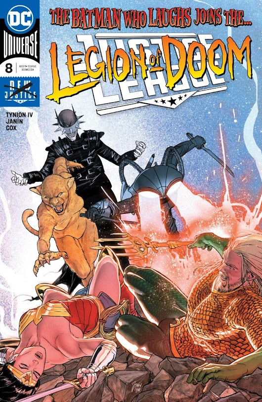 Justice League #8 review