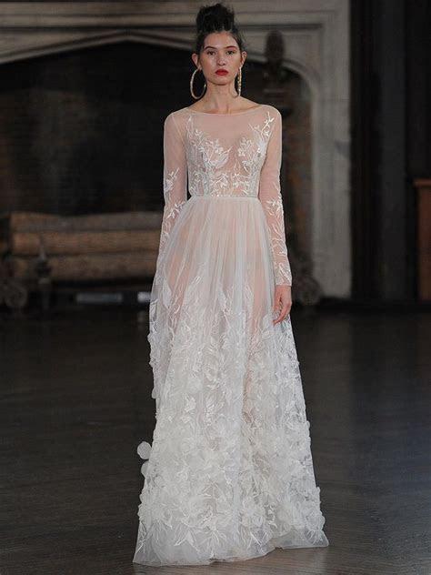 Berta bridal fall 2017 wedding dresses full of Illusion