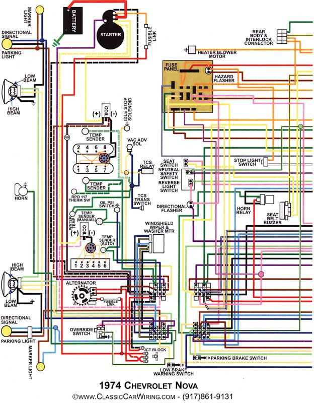 64 Nova Wiring Diagram Triple Acting Aquastat Wiring Diagrams For Wiring Diagram Schematics