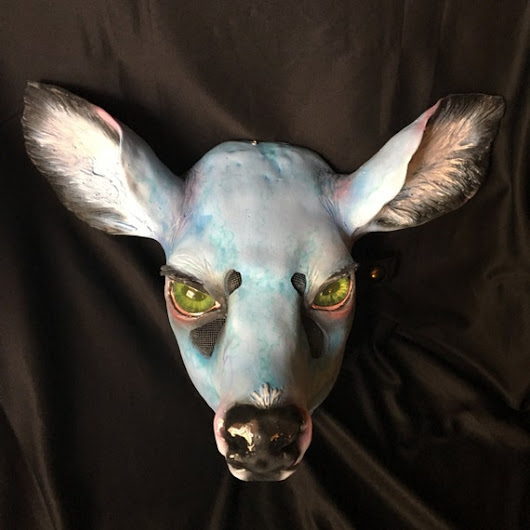 Necro Deer Mask by sogeth on Etsy