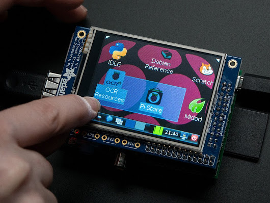 PiTFT - Assembled 320x240 2.8 TFT+Touchscreen for Raspberry Pi ID: 1601 - $34.95 : Adafruit Industries, Unique & fun DIY electronics and kits