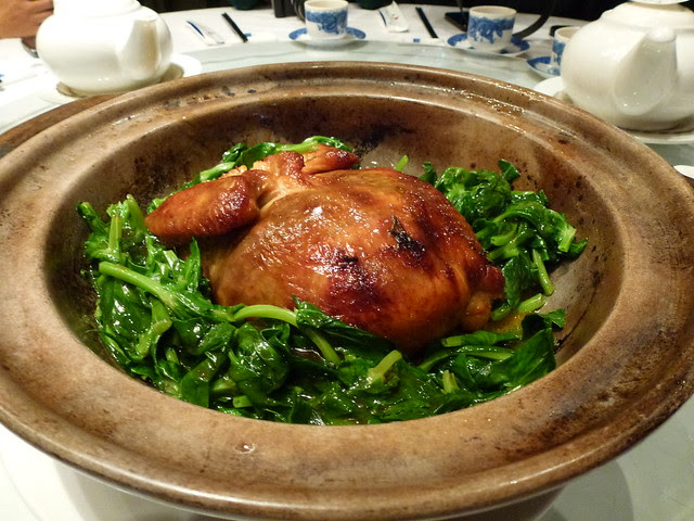 Chicken with Sea Cucumber