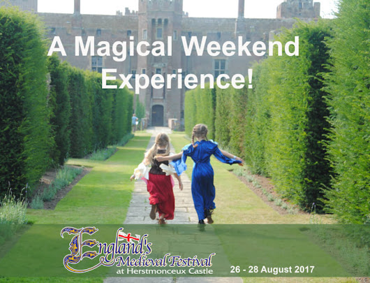 Win festival tickets to England's Medieval Festival 2017