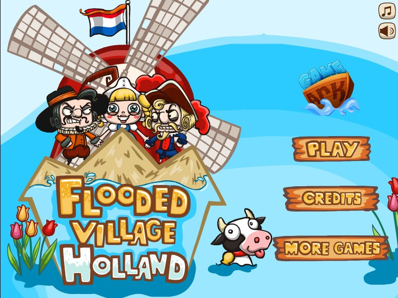 Check out this Holland edition to #FloodedVillage! #StrategyGames #PointAndClick
