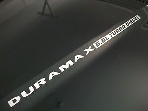 6L Duramax Turbo Diesel Hood Emblem Decals GMC Sierra 2500 3500 HD ...