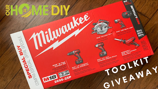 Milwaukee Toolkit Giveaway - OurHomeDIY.com