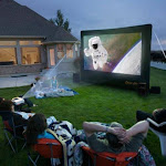 Open Air Cinema 9 ft. CineBox Home Theater System