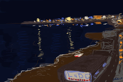 Giardini Naxos (iPhone drawing)