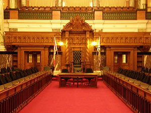 The chamber of the British Columbia provincial...