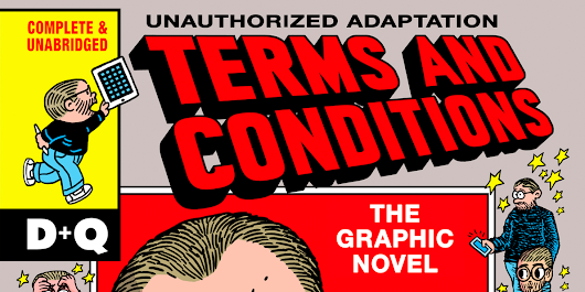 An artist turned iTunes' 20,000-word terms and conditions into a satirical graphic novel