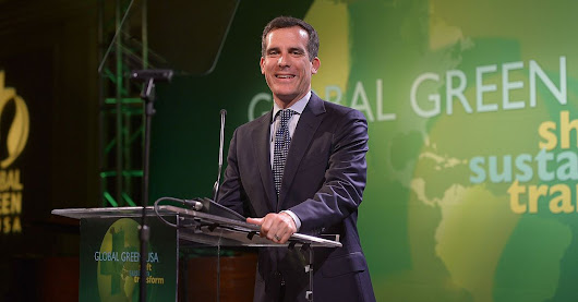 L.A. Mayor Eric Garcetti on Startups, Sustainability and Being a Geek