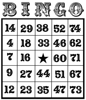 free printable bingo cards   Thefrugalcrafter