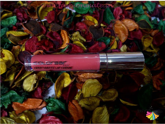 Beauty Reviews: Colorbar deep matte lip creame in deep blush Review & Swatches | Fashion Mate