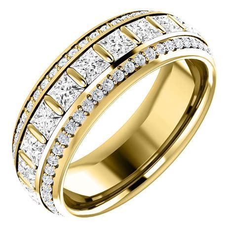 S127667E Diamond Eternity Band 18K Gold