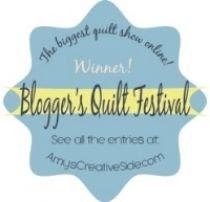 Blogger's Quilt Festival Winner
