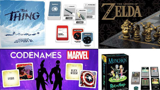 USAopoly creating popular board games since 1994 - Marvel, Rick & Morty, The Walking Dead