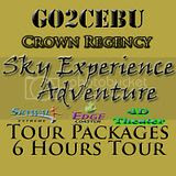 Crown Regency Sky Experience Adventure in Cebu Day Tour Itinerary Package