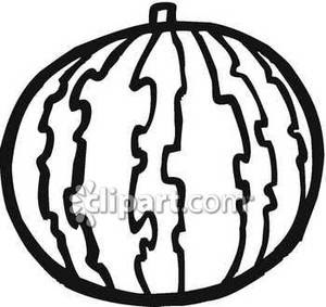 Watermelon Black And White Clipart Clipart Suggest