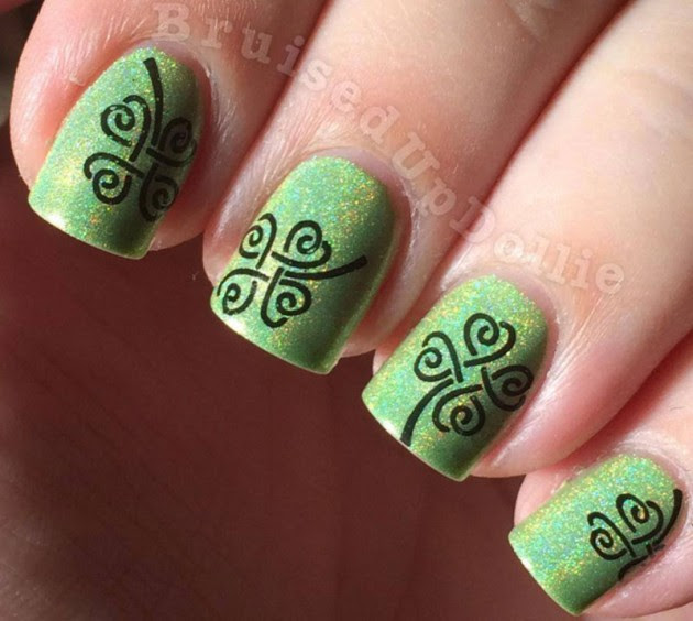 Green And Festive Stpatricks Day Nail Designs To Copy Now