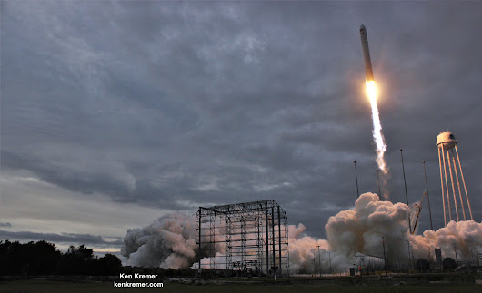 Station Astronauts Unload Cygnus Science; Antares Launch Gallery - Universe Today