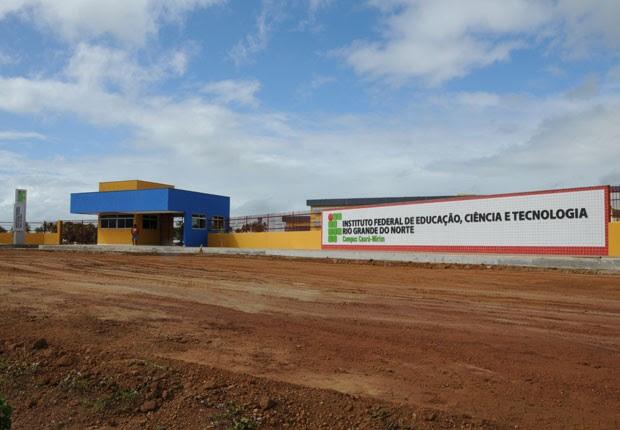 Campus do IFRN em Ceará-Mirim será inaugurado pela presidente Dilma Rousseff (Foto: Alberto Medeiros)
