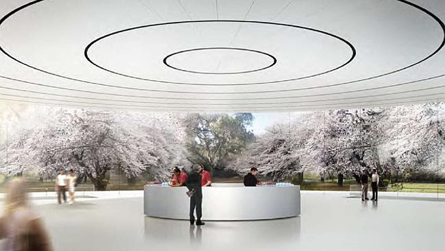 Inside the pavilion. Source: City of Cupertino Source: Supplied