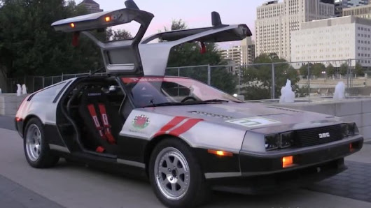 Racing DeLorean goes a hell of a lot faster than 88 mph
