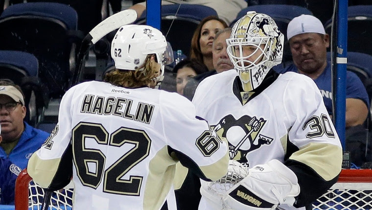 Carl Hagelin et Matt Murray