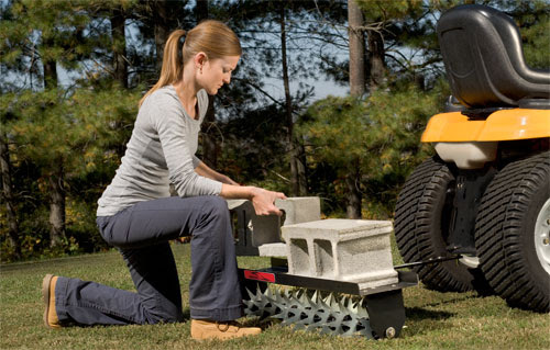 Brinly Lawn Aerators | Brinly-Hardy Tow-behind Aerator Attachments