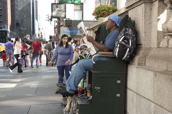 Shoeshine, NYC