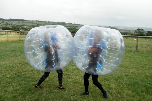Body Zorbing in Harrogate, North Yorkshire - Live For Today